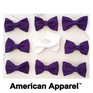American Apparel Hair Bow Bundle